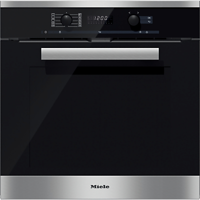 Miele H6260BP PureLine Single Electric Oven, Clean Steel Review thumbnail