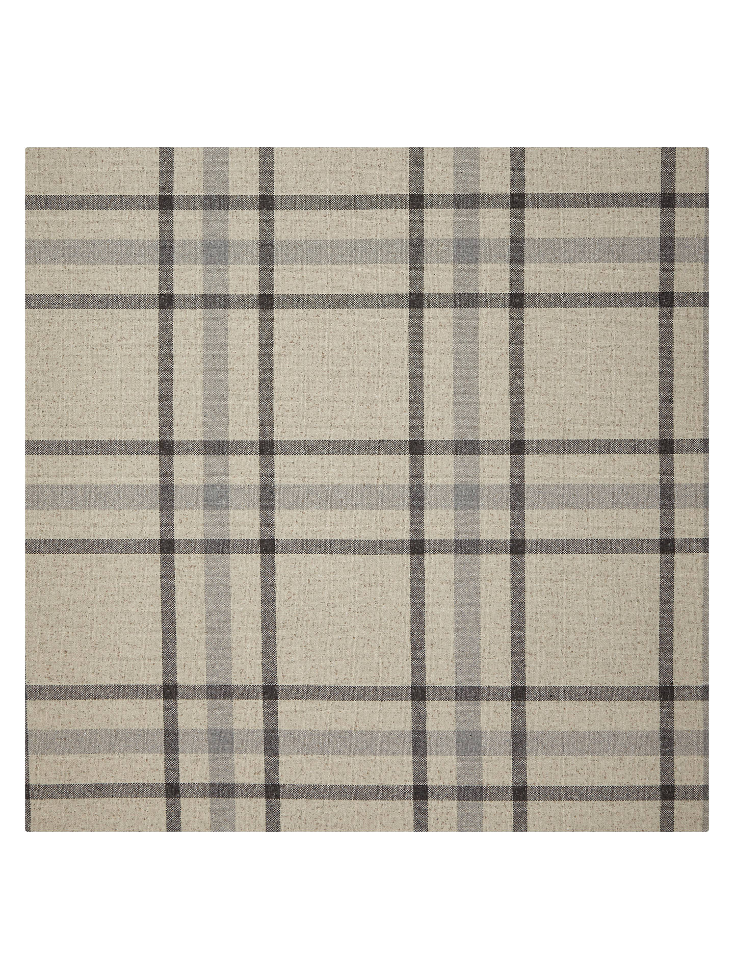 Buy John Lewis Wool Fleck Check Furnishing Fabric, Oyster Online at johnlewis.com