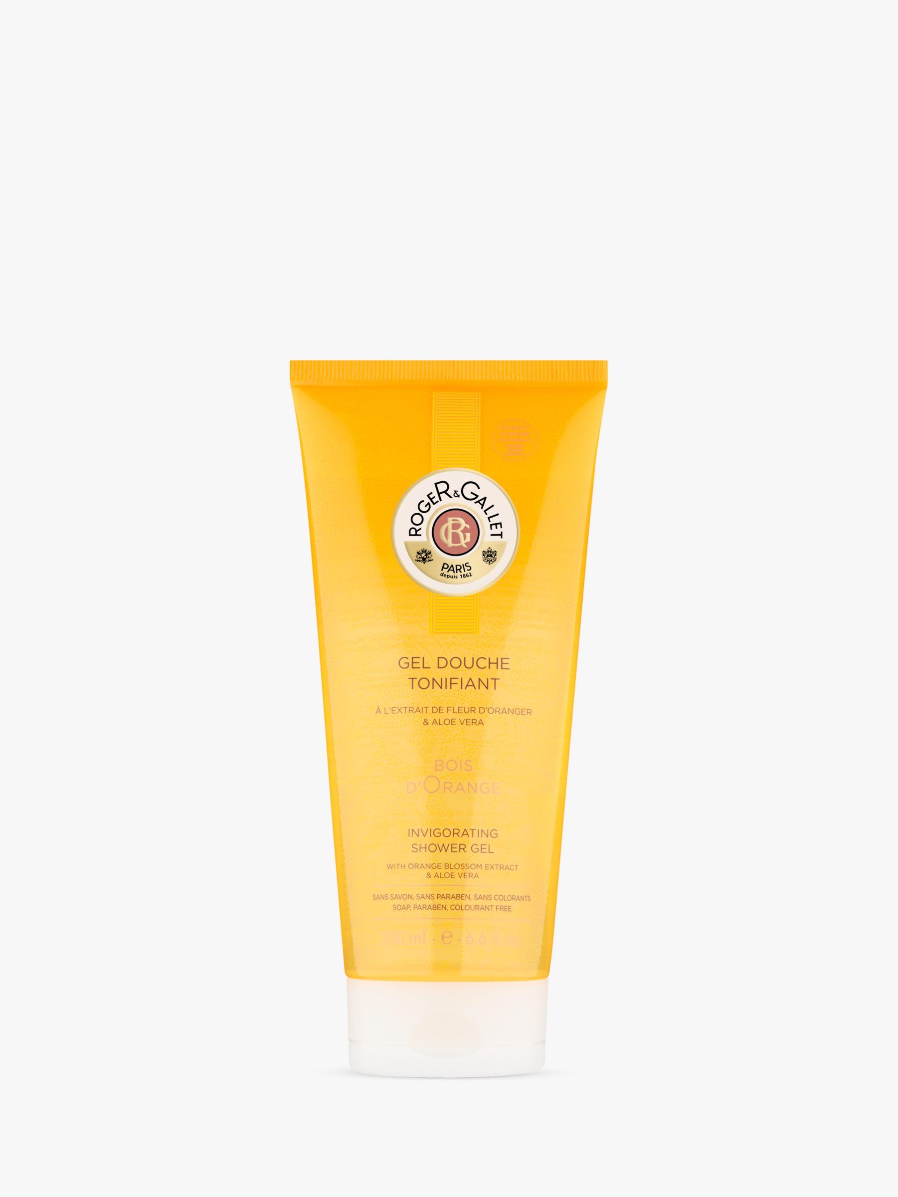 Roger & Gallet Roger & Gallet Bois D'Orange Invigorating Bath & Shower Gel, 200ml