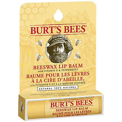 Product photo of Burt s bees beeswax lip balm 4 25g