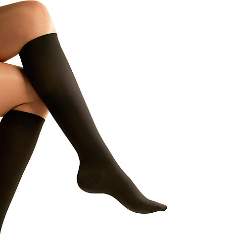 Buy Go Travel 899 Flight Socks, Black, Medium Online at johnlewis.com