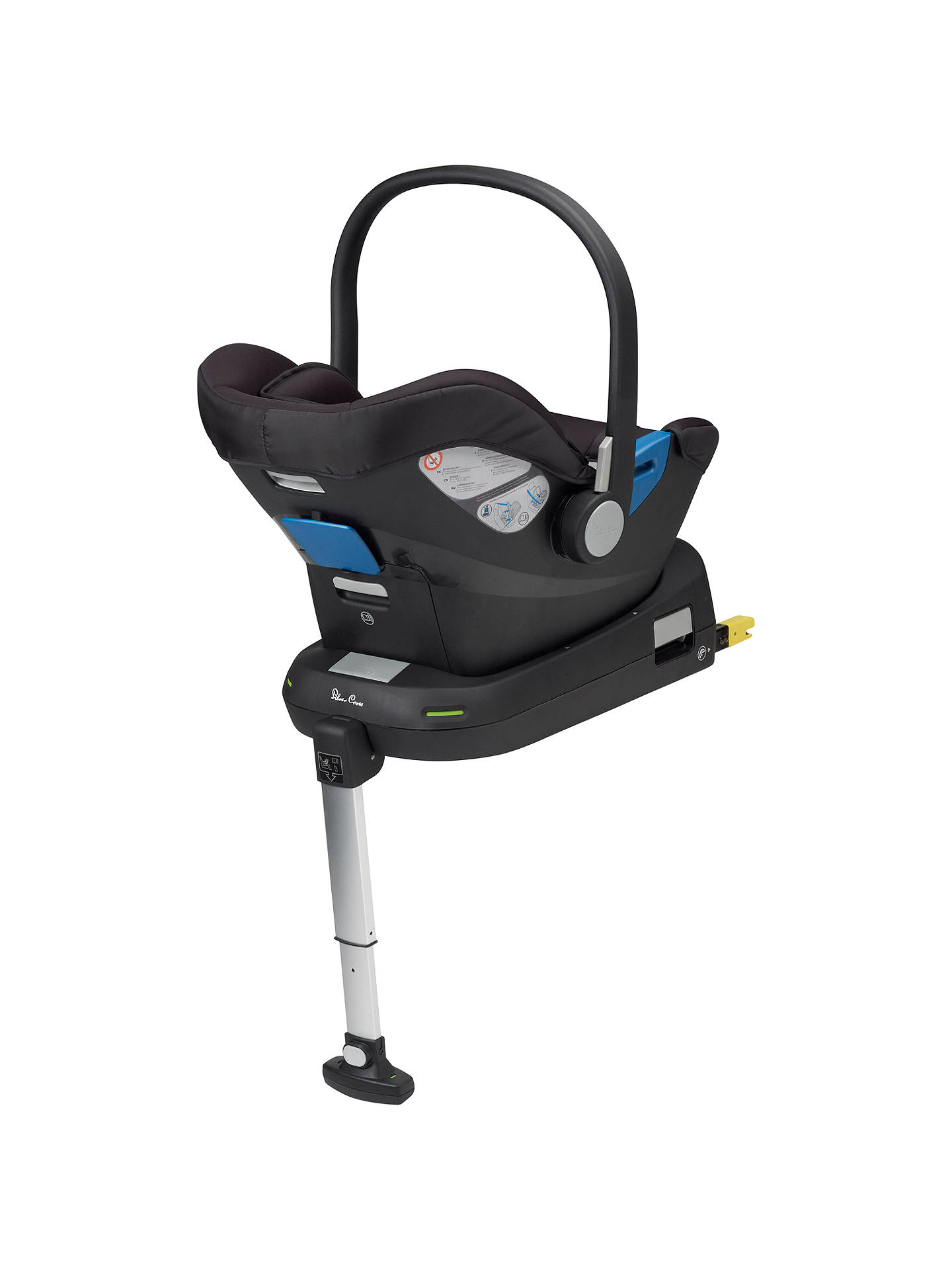 BuySilver Cross Simplifix Isofix Group 0+ Car Seat Base Online at johnlewis.com