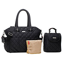 Buy Storksak Bobby Changing Bag, Black Online at johnlewis.com