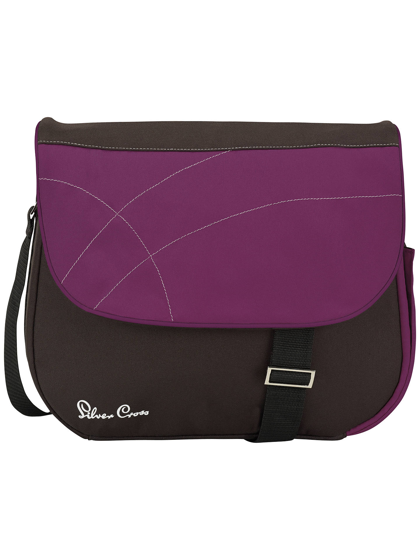 BuySilver Cross Wayfarer, Pioneer and Surf Changing Bag, Damson Online at johnlewis.com
