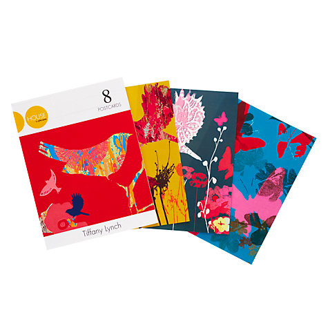 Buy House by John Lewis, Tiffany Lynch Postcards, Pack of 8 Online at johnlewis.com