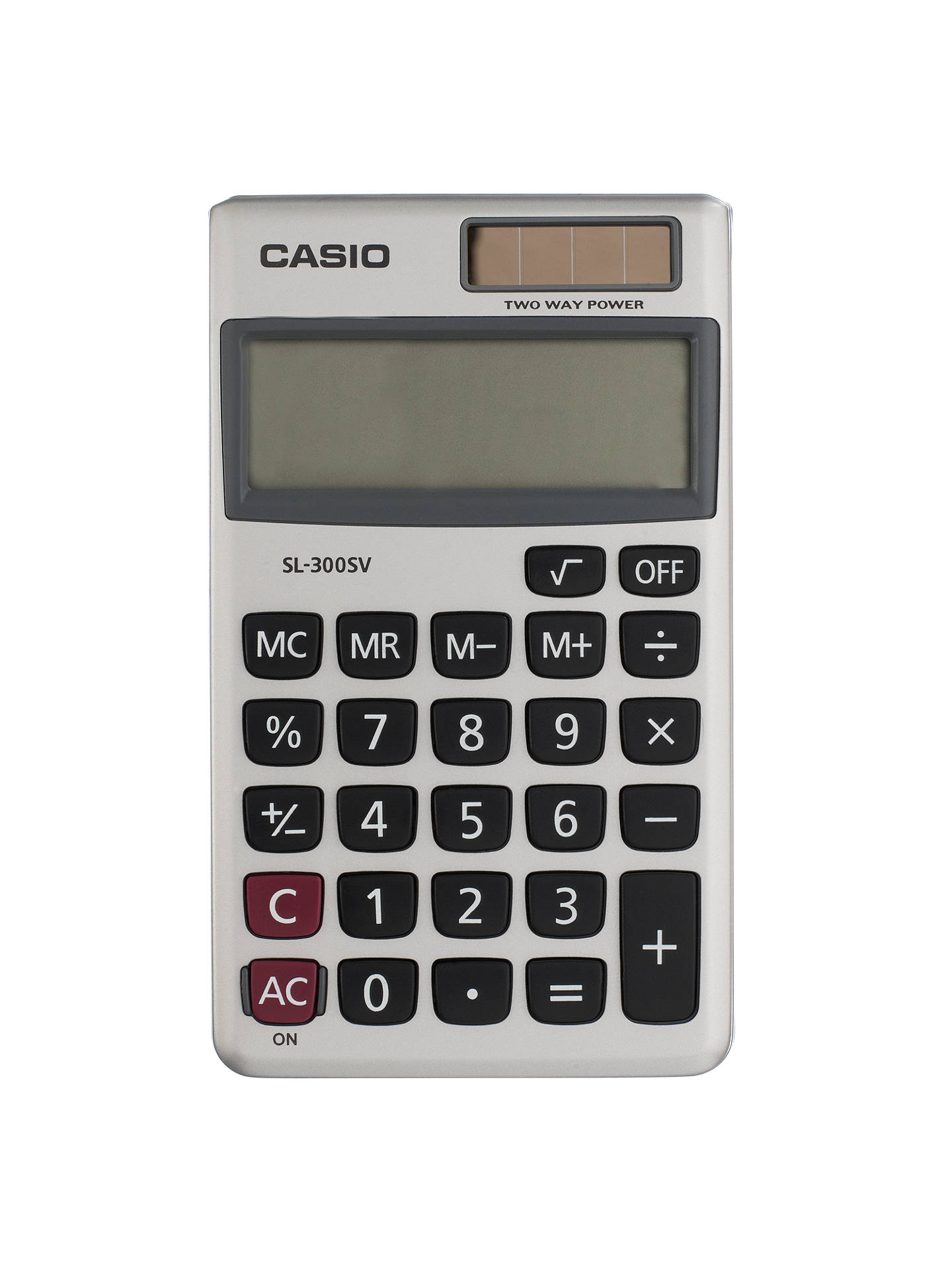 Casio Sl 300 S Uh Basic Calculator At John Lewis Partners