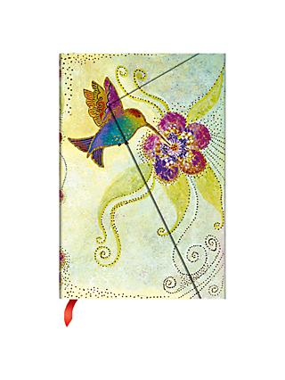 Paperblanks Hummingbird Mini Notebook, Lined Pages