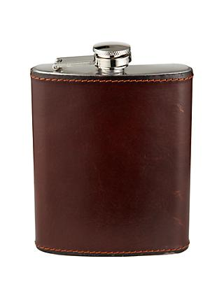 John Lewis & Partners Made In Italy Hip Flask