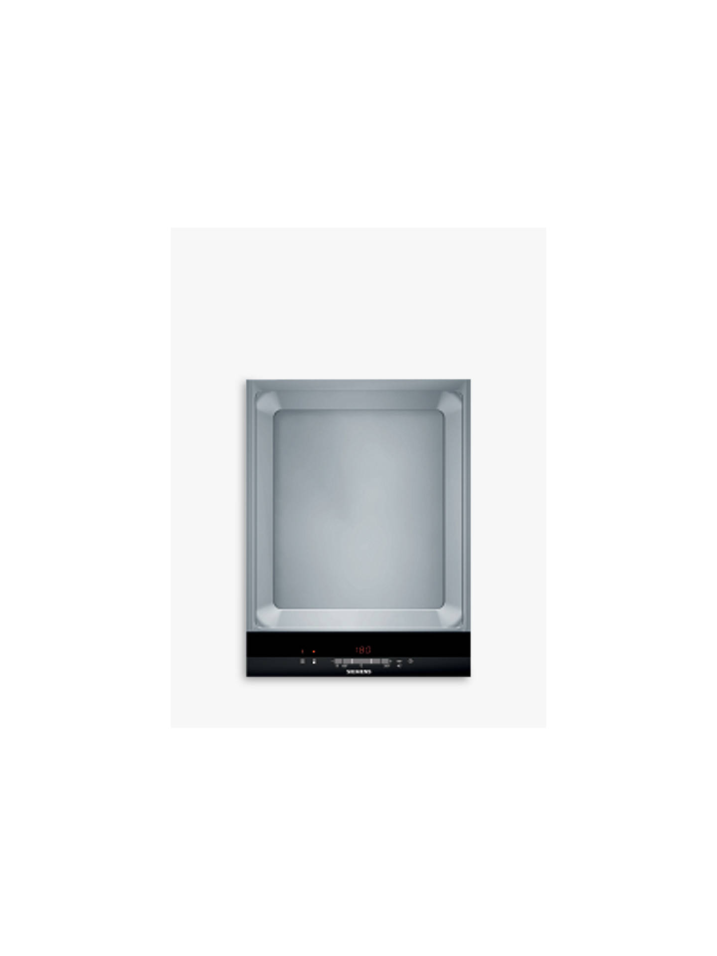 BuySiemens ET475MY11E Teppan Yaki Cooktop, Stainless Steel Online at johnlewis.com