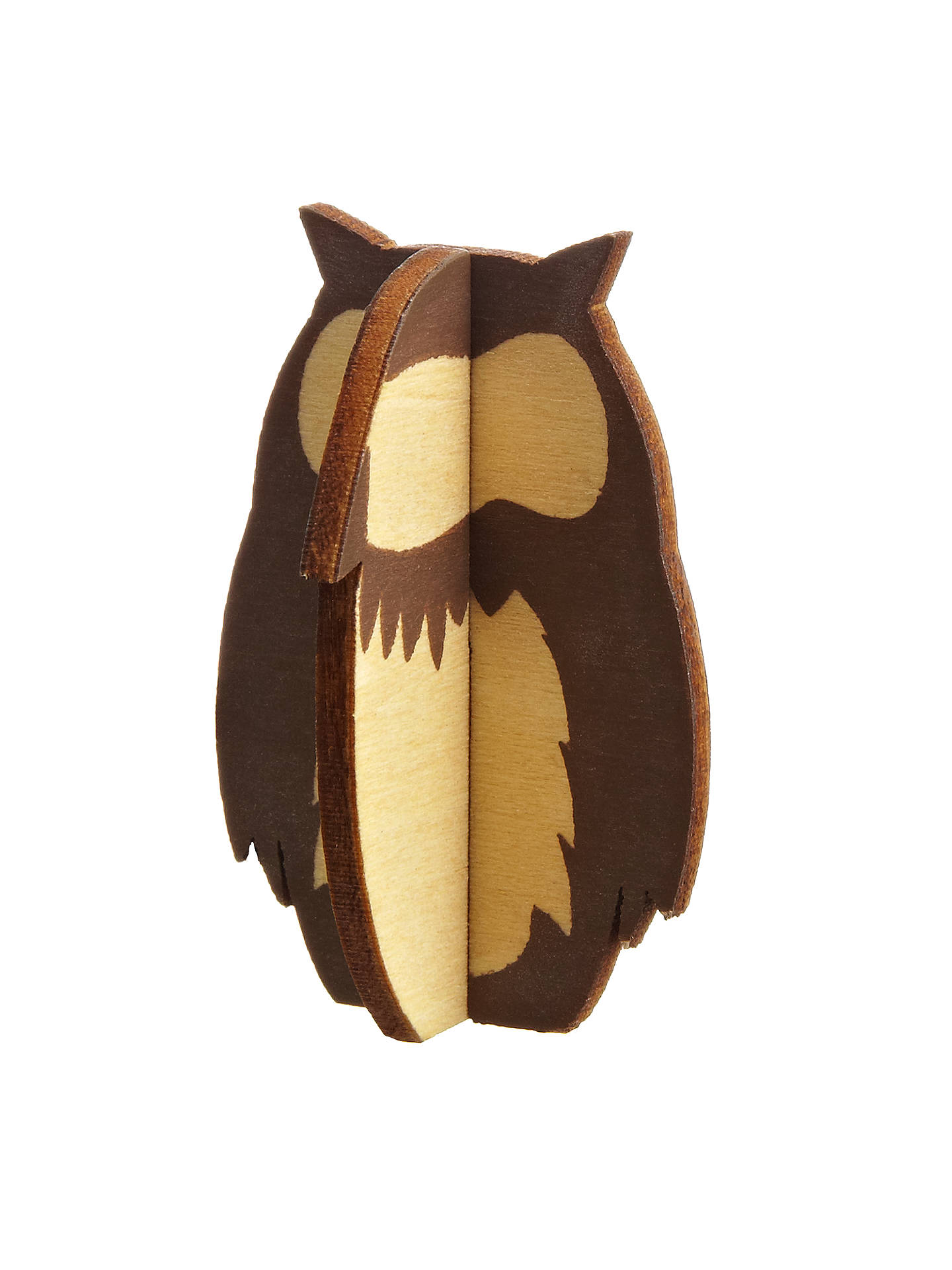 BuyDesign Ideas Woodland Owl Decorations, Set of 8 Online at johnlewis.com