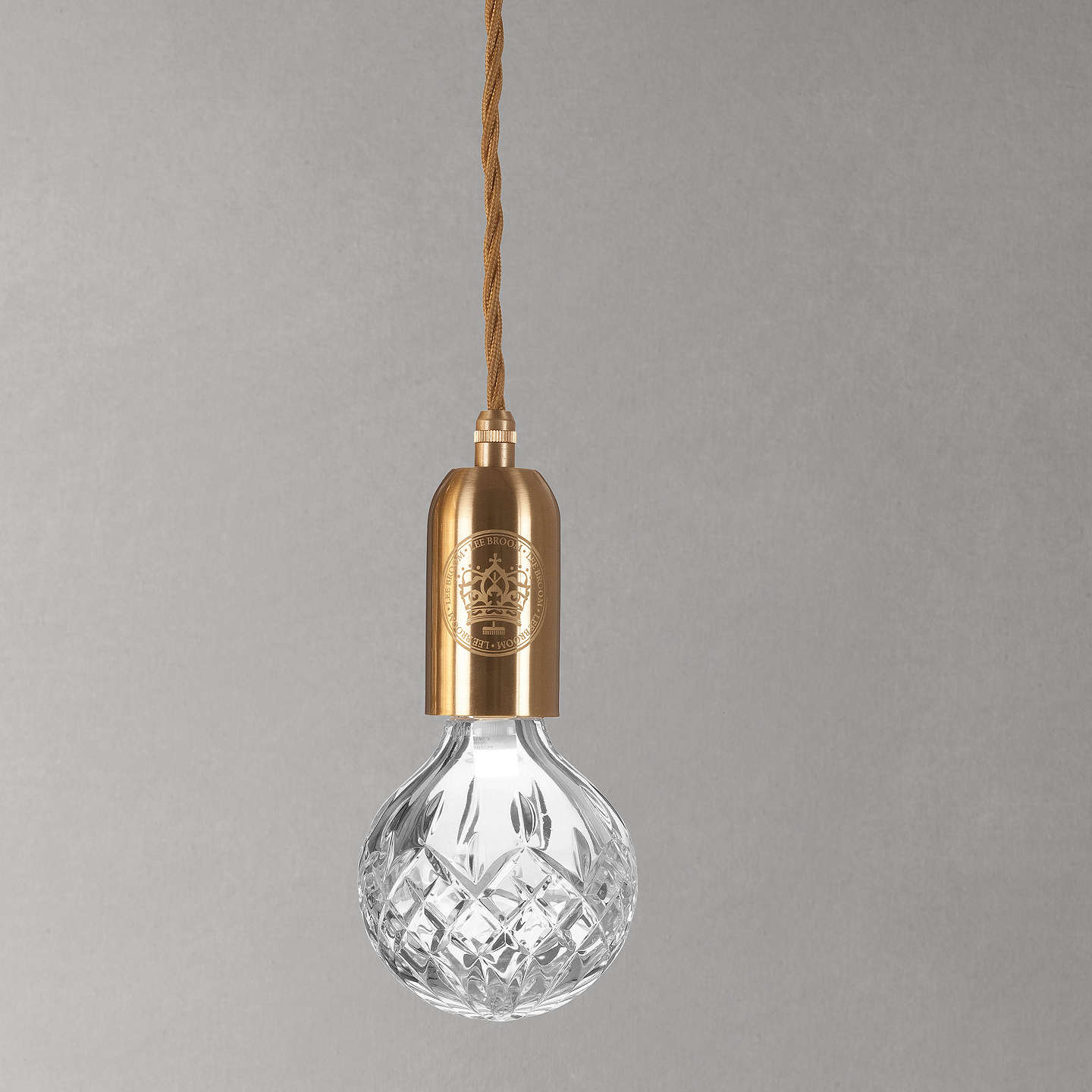 industrial light vintage product lamp cord with one hardware pendant exposed fixture brass fabric canopy antique led wrapped modern bulb included