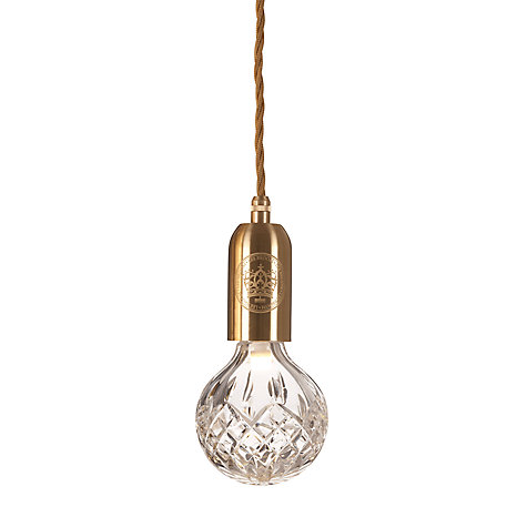 Buy Lee Broom Clear Crystal Bulb and Pendant Online at johnlewis.com