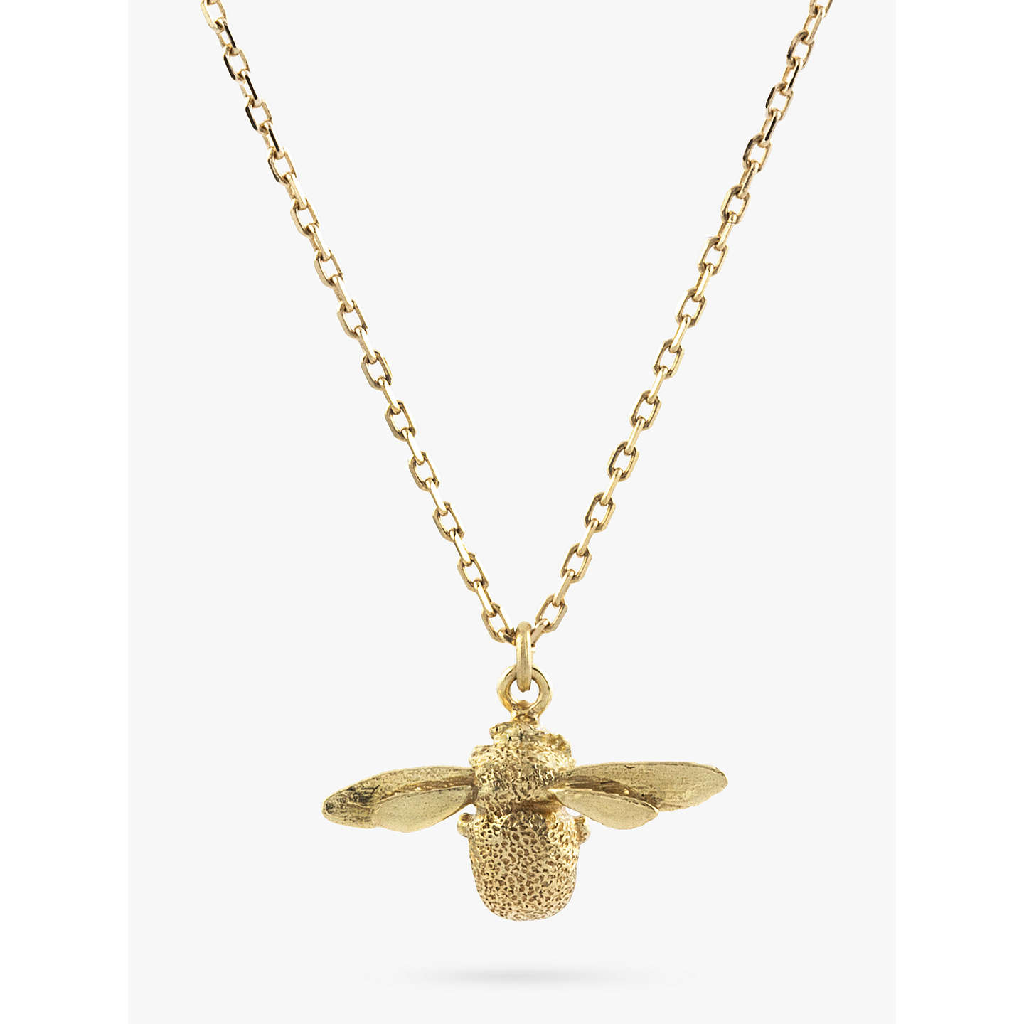 buy honeybee necklace bee jewelry pendant gold bumble