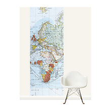Buy Surface View Commercial Chart of the World Wall Mural, 100 x 265cm Online at johnlewis.com