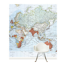 Buy Surface View Commercial Chart of the World Wall Mural, 240 x 265cm Online at johnlewis.com