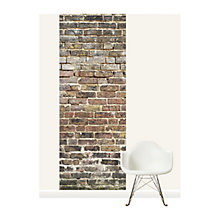 Buy Surface View Old Bricks Wall Mural, 100 x 265cm Online at johnlewis.com