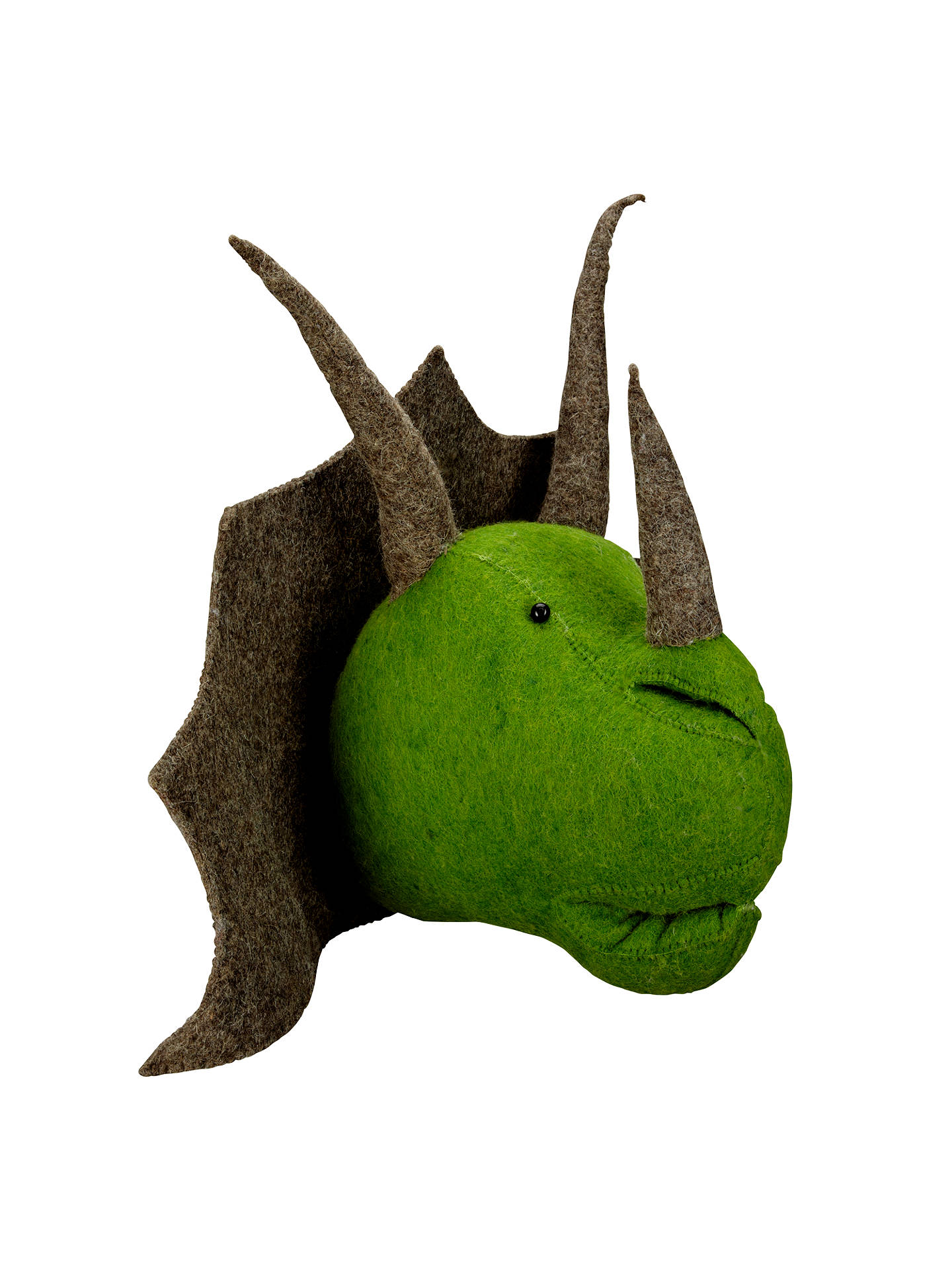 Scandi Chic Triceratops Wall Mounted Dinosaur Head Online At Johnlewis