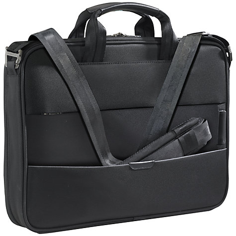 "Buy Briggs & Riley KB207X-4 Business 15.6"" Laptop Briefcase, Black Online at johnlewis.com"