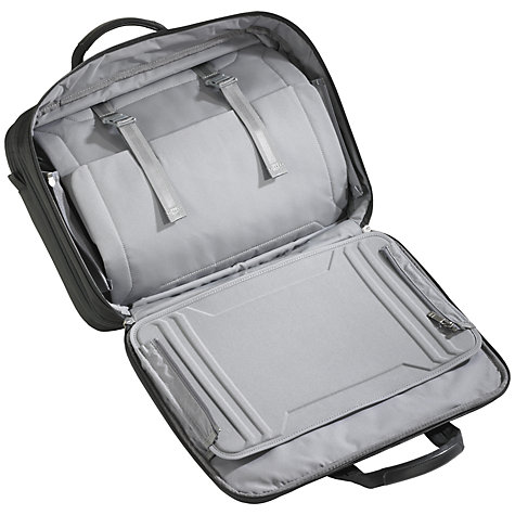 "Buy Briggs & Riley 15.6"" Laptop and iPad 2-Wheel Mobile Office Online at johnlewis.com"