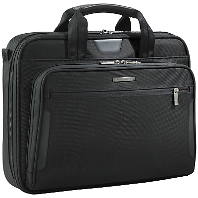 Product photo of Briggs riley kb2064 business 15 6 laptop briefcase black