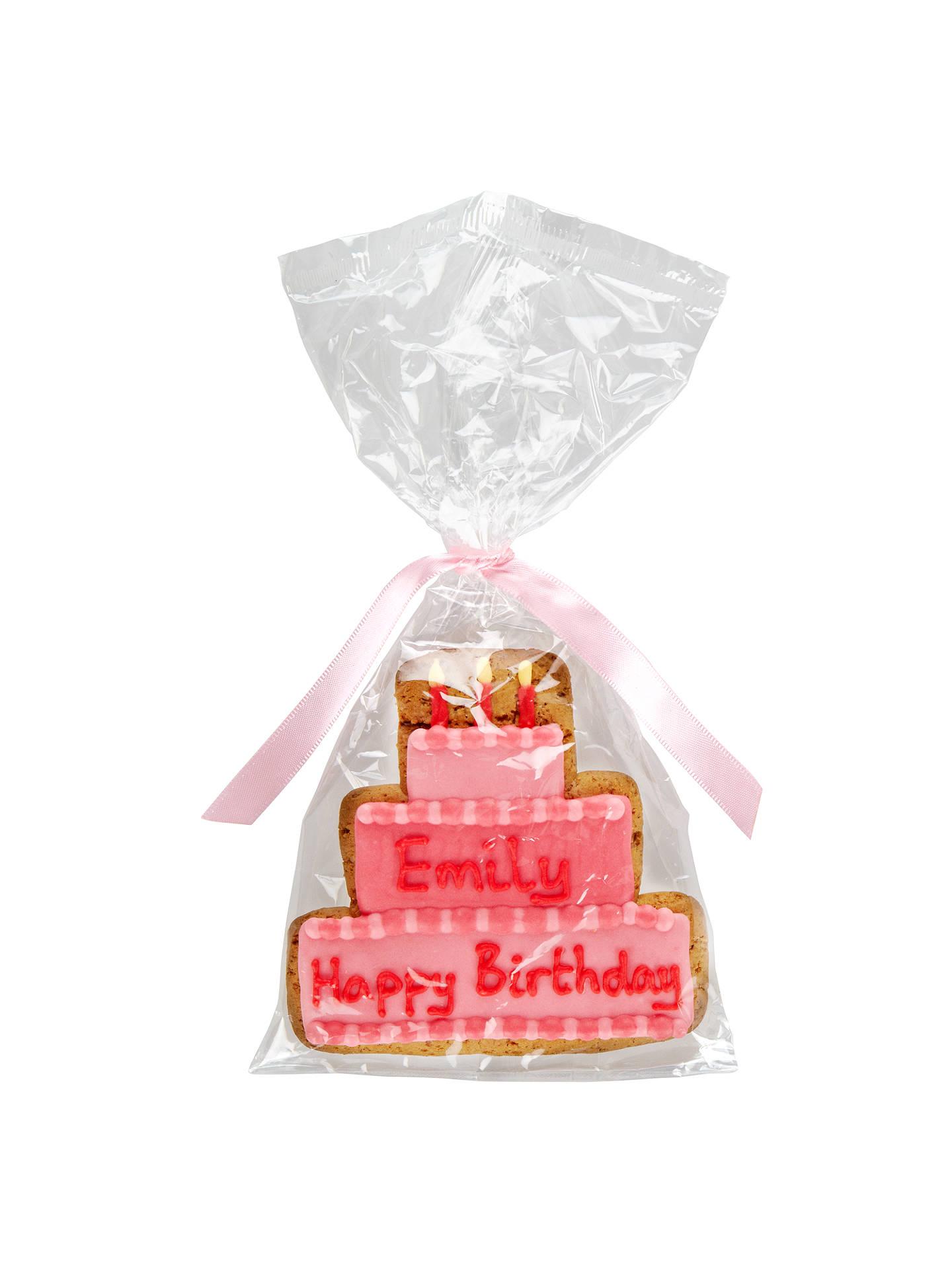 Image On Food Personalised Happy Birthday Cake Girl Gingerbread