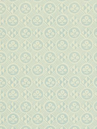 Zoffany Diamonds and Flowers Wallpaper