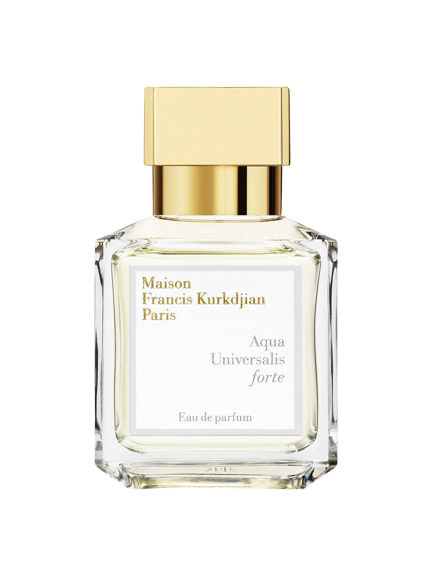 Maison Francis Kurkdjian Aqua Universalis Forte Eau de Parfum, 70ml at John  Lewis & Partners