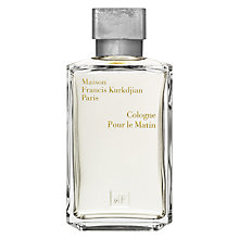 Buy Maison Francis Kurkdjian Cologne Pour Le Matin, 200ml Online at johnlewis.com