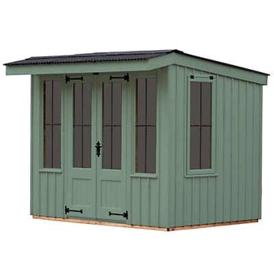 National Trust by Crane Flatford Summerhouse, 2.4 x 3m