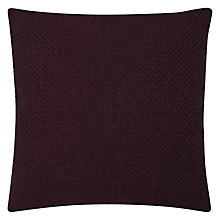 Buy John Lewis Luce Cushion, Fig Online at johnlewis.com