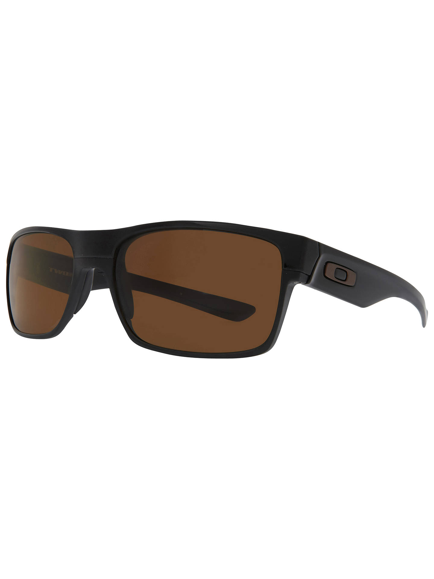 BuyOakley OO9189 Two Face Sunglasses, Black Online at johnlewis.com
