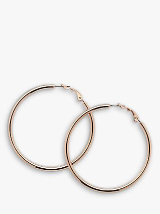 Melissa Odabash Large Polished Hoop Earrings