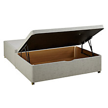 Buy Silentnight End Divan Storage Bed, King Size Online at johnlewis.com