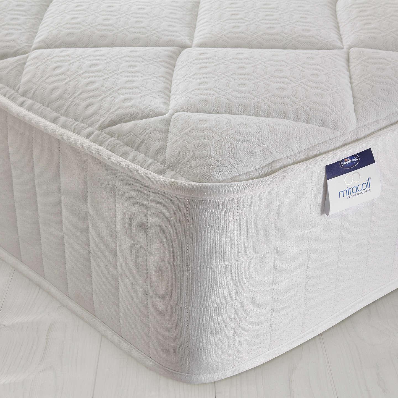 silentnight miracoil memory mattress medium double at. Black Bedroom Furniture Sets. Home Design Ideas