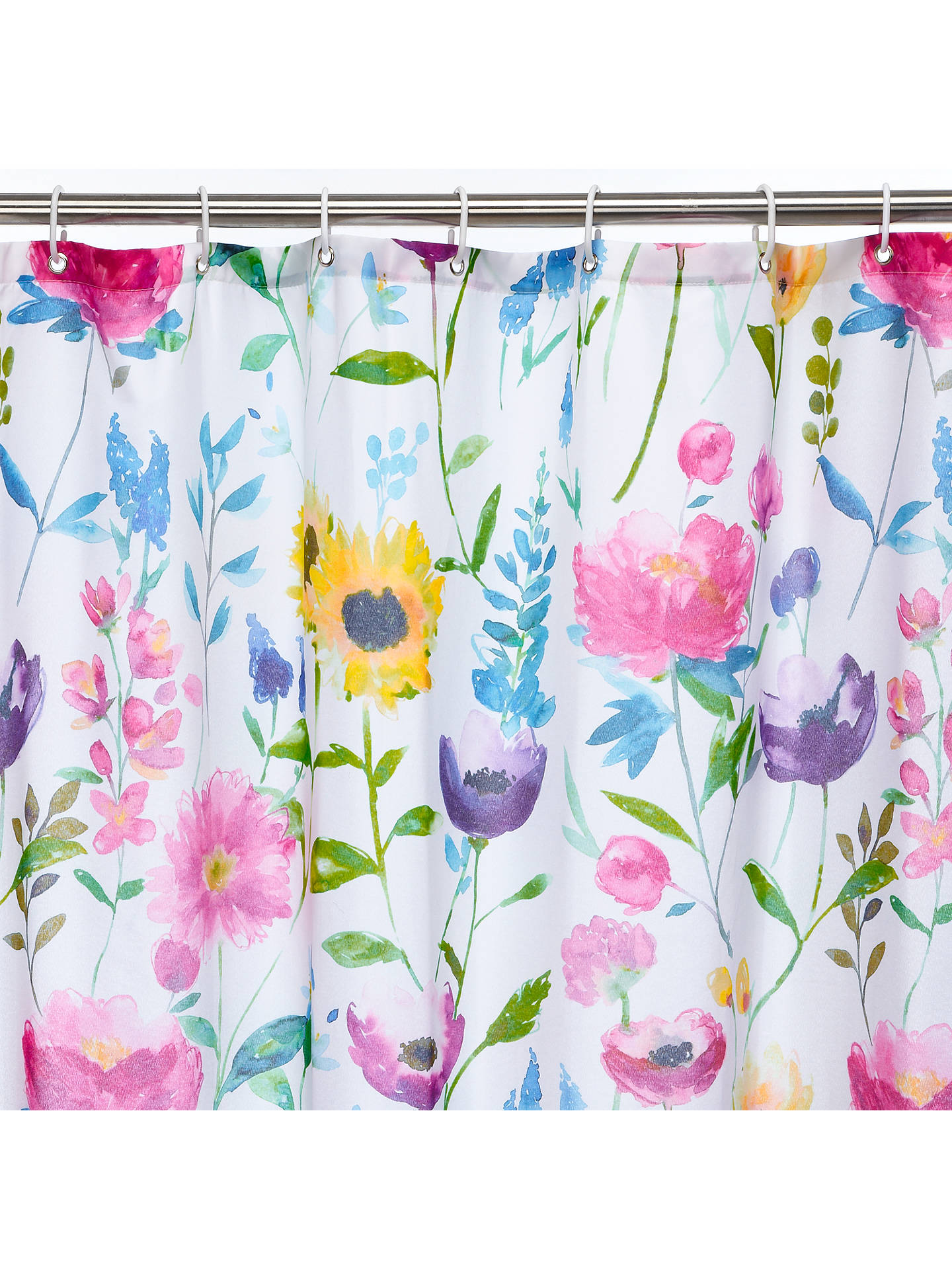 Buybluebellgray Flower Field Shower Curtain Online At Johnlewis