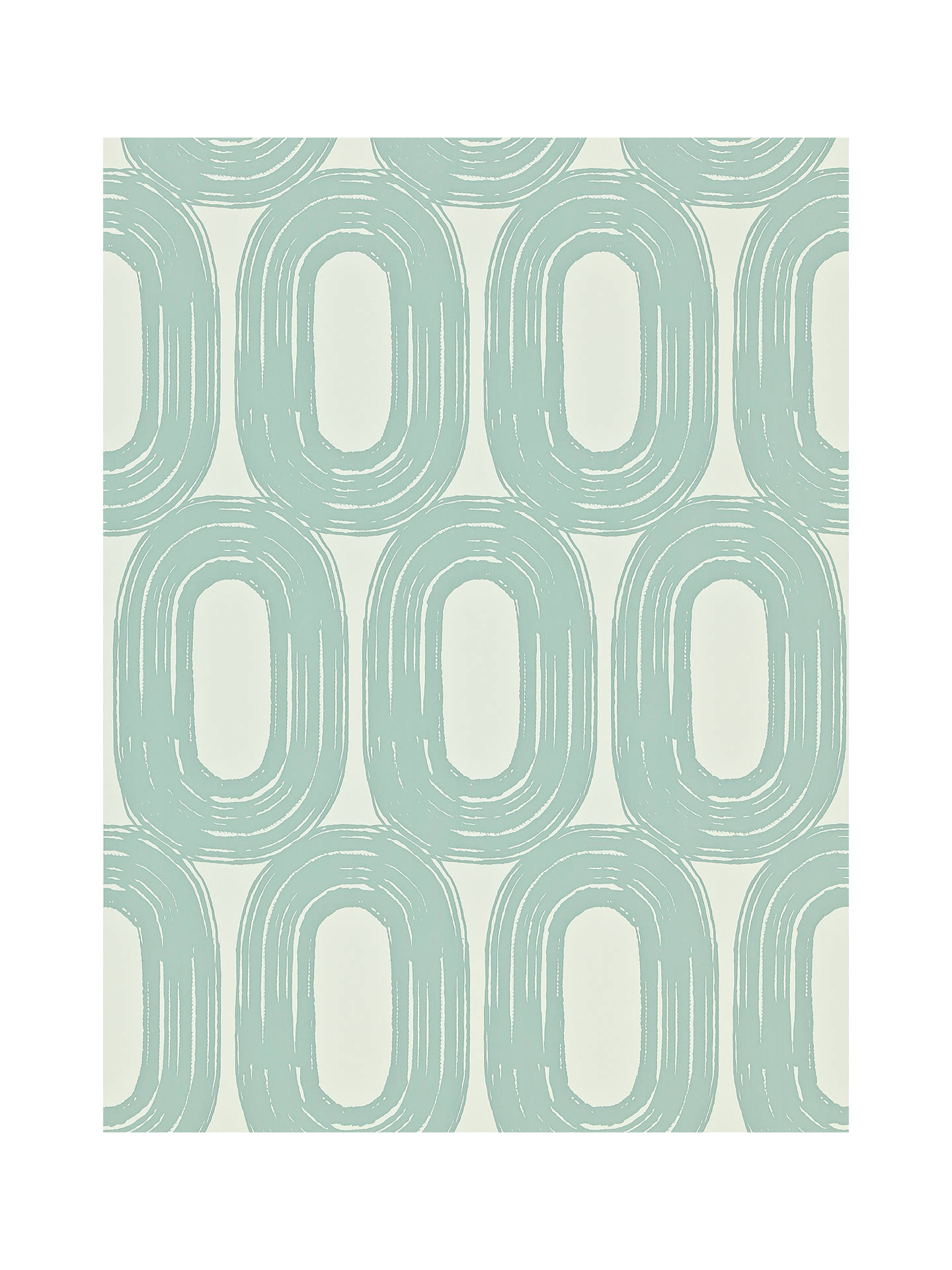 Buy Scion Loop Paste the Wall Wallpaper, Duck Egg, 110452 Online at johnlewis.com