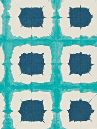 Buy Scion Shoji Paste the Wall Wallpaper, Topaz / Indigo, 110435 Online at johnlewis.com