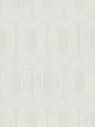 Buy Scion Loop Paste the Wall Wallpaper, Chalk, 110451 Online at johnlewis.com