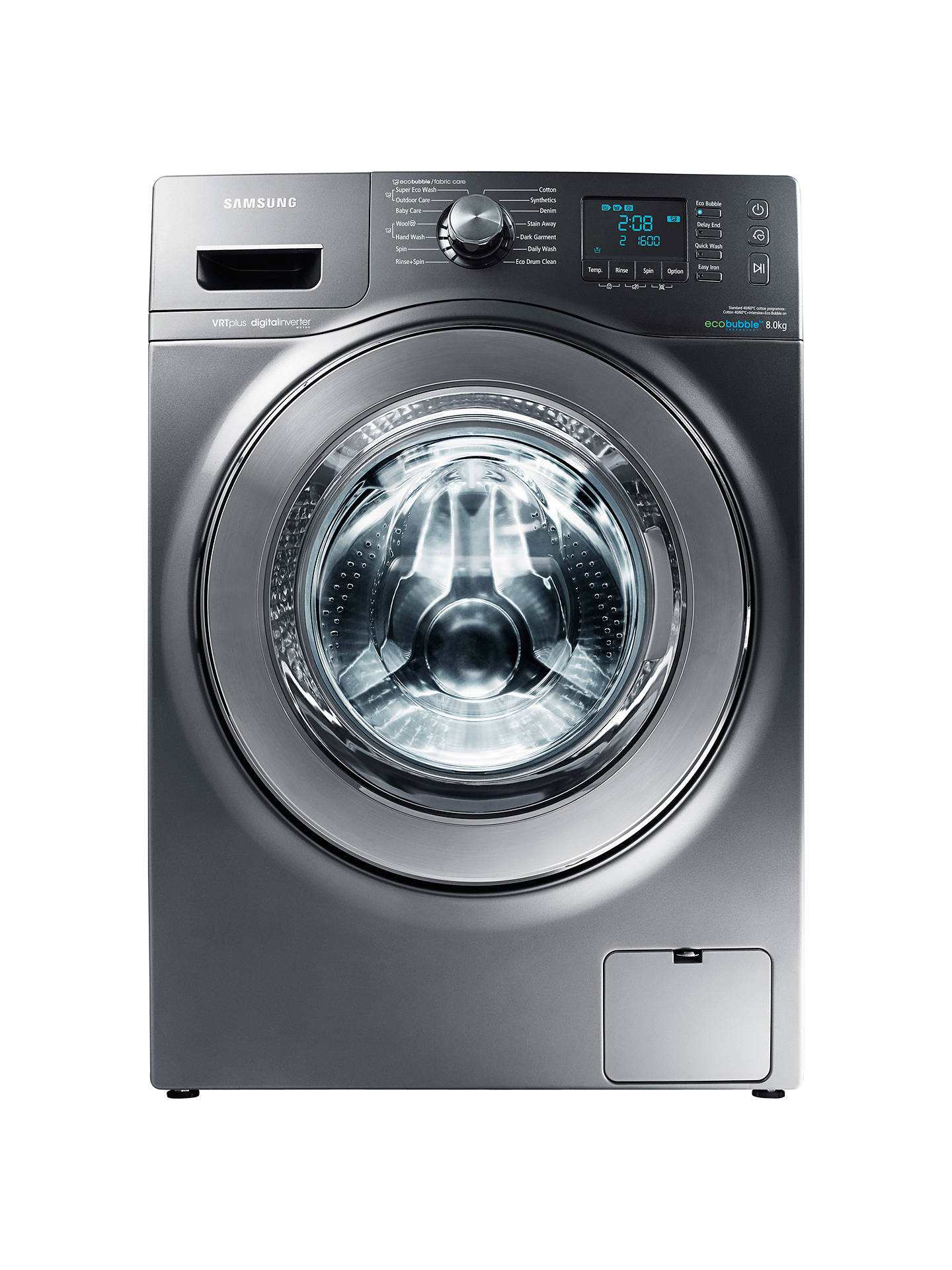 The washing machine Samsung does not squeeze and does not drain the water: what to do 13