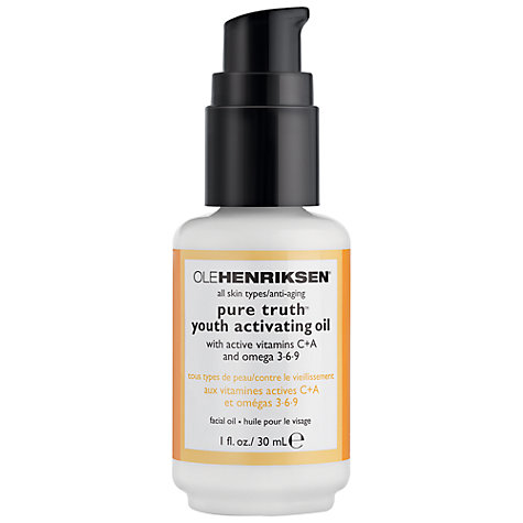 Buy OLEHENRIKSEN Pure Truth Youth Activating Oil, 30ml Online at johnlewis.com