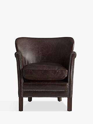 Halo Little Professor Leather Armchair