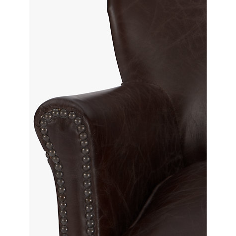 Buy Halo Little Professor Leather Armchair, Biker Tan Online at johnlewis.com