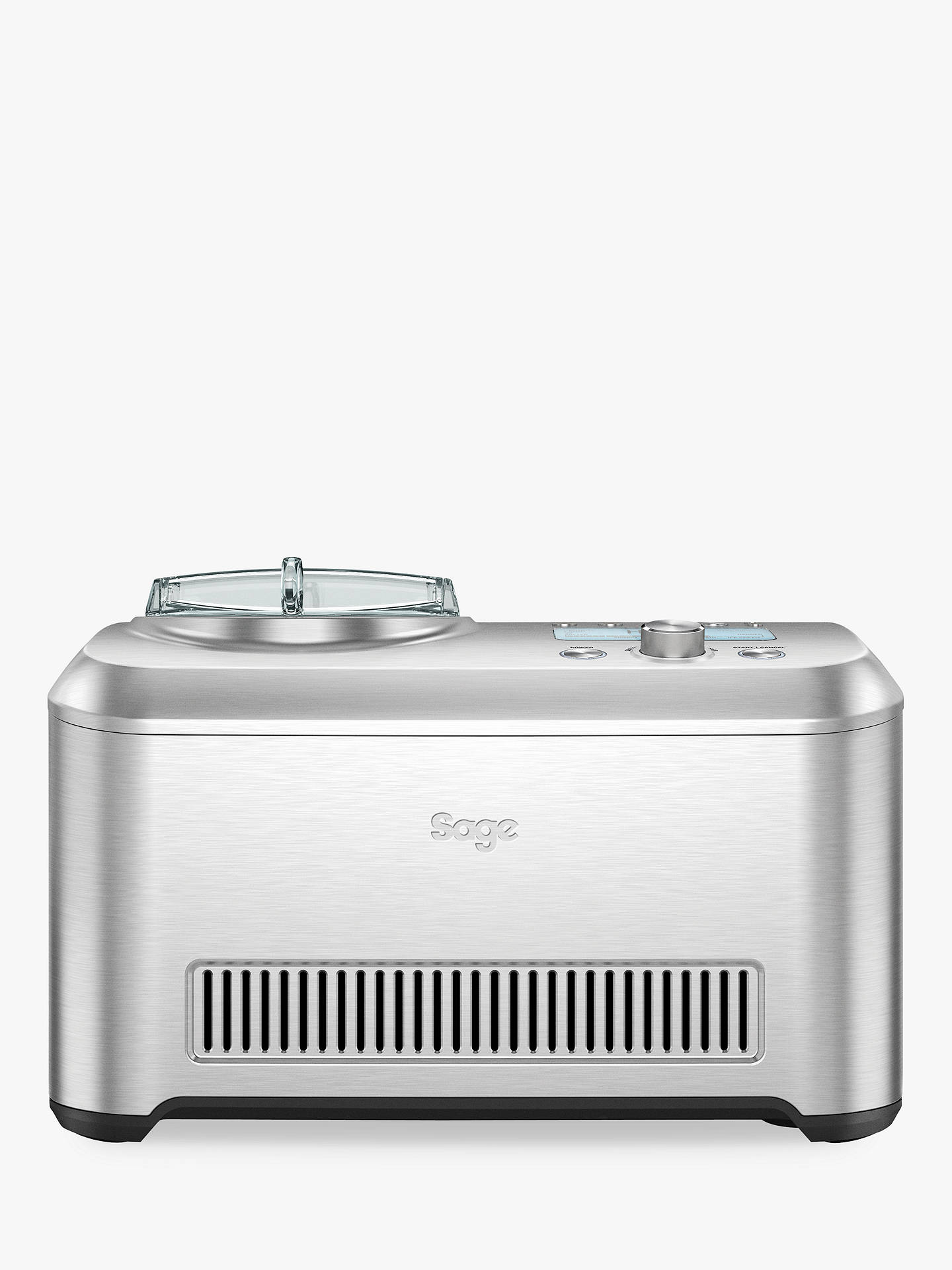 Buy Sage the Smart Scoop™ Ice Cream Maker, Silver Online at johnlewis.com