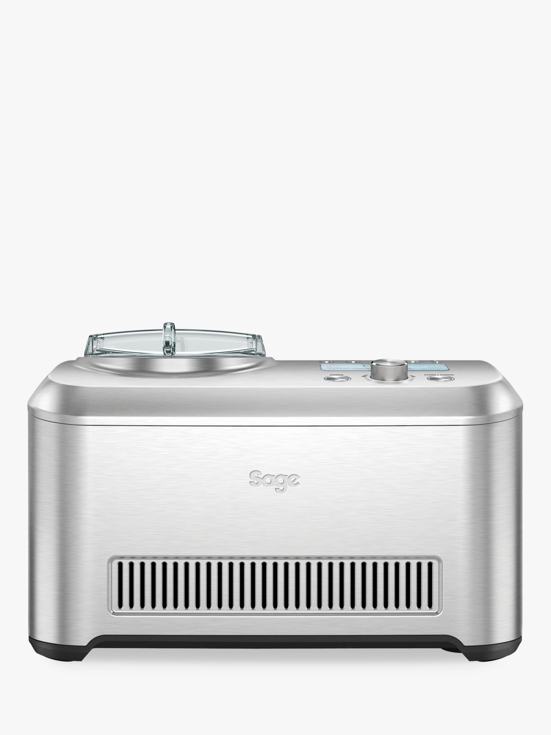 Sage Sage the Smart Scoop™ Ice Cream Maker, Silver