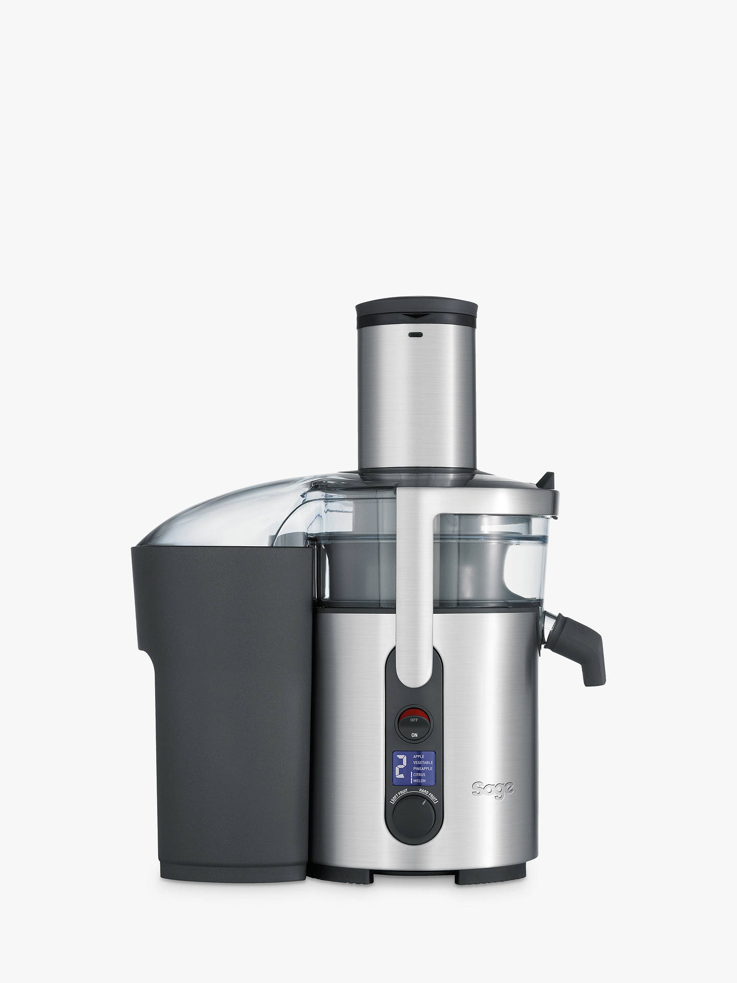 BuySage the Nutri Juicer Plus, Silver Online at johnlewis.com