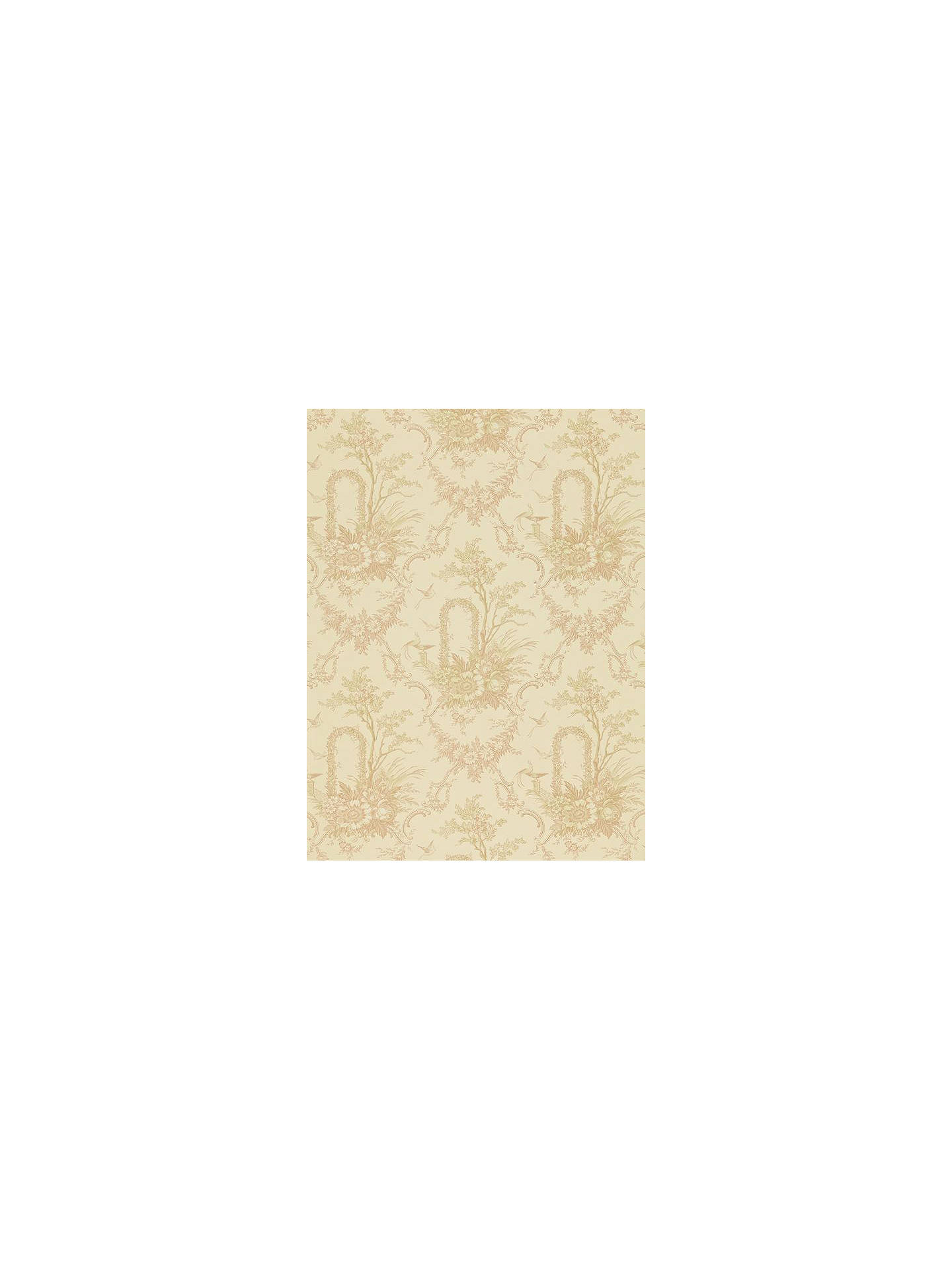 BuySanderson Archway Toile Wallpaper, Sand, DEGTAT102 Online at johnlewis.com