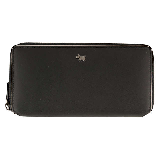 Radley blair black large zip around purse
