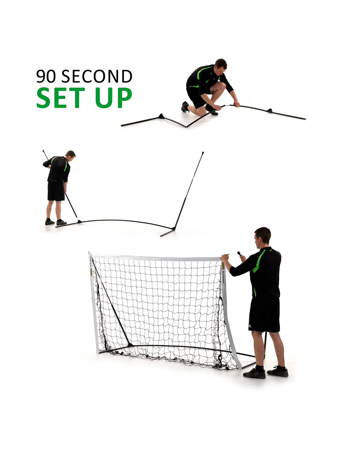 QuickPlay Kickster Academy Ultra-Portable 6' x 4' Football