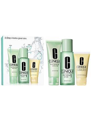 Clinique 3-Step Skincare 1 Introduction Kit, Very Dry to Dry