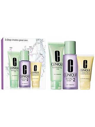 Clinique 3-Step Skincare 2 Introduction Kit, Dry Combination